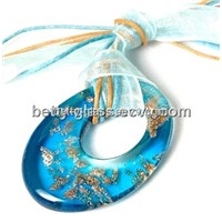 Glass Beads Necklace, Glass Jewelry Wholesale, Glass Pendant, Glass Jewelry