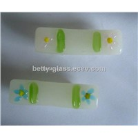 Glass Chopstick Stand (BT10116) Glass Chopstick Holder/ Glass Chopsticker Manufacturer