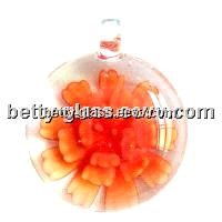 Glass Jewelry / Lampwork Glass Beads Pendant / Glass Beads Necklace