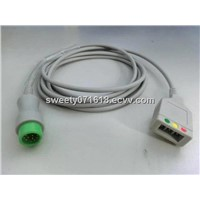 Mindray ECG Trunk leadwires - 12pin 3leads