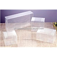 Rectangle 15X8cm PVC clear customer gift box