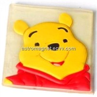 Refrigerator Soft PVC Magnet, Customized Designs are Accepted, Made of Liquefied PVC Material