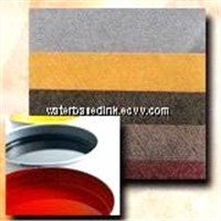 Rotogravure printing water based ink for special paper
