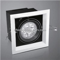 Square Recessed LED Grille Spotlight
