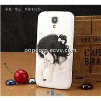 Top Selling Factory Direct Sale 3D sublimation hard case cover for samsung galaxy S4 i9500