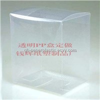Clear Twill PP Box/ PP Packing Box /Clear Transparent Customized Box