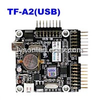 USB Cable Port TF-A2(USB) LED Display Control Card,Single & Dual Color Support