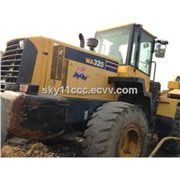 Used Komatsu Wheel Loader WA320 Good Condition
