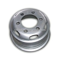 Vehicle steel wheel rim/car wheel/truck wheel/6.00G-16 tubed wheel