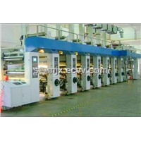 Yiming High Precision 8 Color Rotogravure Printing Machine