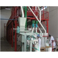 100 Ton Maize Flour Mill