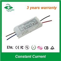 12W Close Frame Constant Current LED Drivers Power Supply