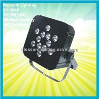 12*3W 3in1 Battery&Wireless LED PAR Light (BS-2048)