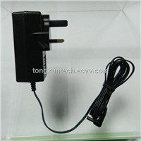 12v 1A interchangeable power adapter supply