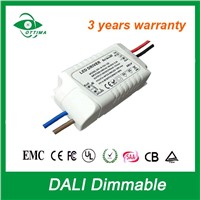 15W Dali Dimmable 48V DC LED Driver
