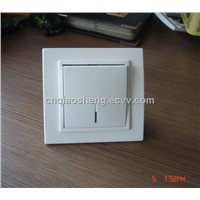 1 gang 1 way wall switch with LED indicator