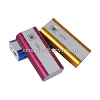 2014 Cheapest!RoHS power bank,Wholesale mini portable power bank 5200maH welcome OEM