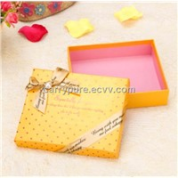 2014 Fashion round dots gift boxes, wholesale with hot stamping