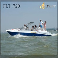 24FT double CF motor engine fiberglass leisure speed boat