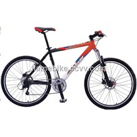 26' Steel Mountain Bicycle With Front Suspension