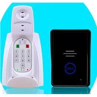 2.4G digital wireless intercom system audio door phone SY601MJ