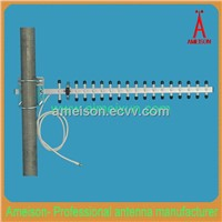 2.4 GHz 18 dBi Heavy-Duty Extruded Anodized Aluminum Yagi Antenna - with Pr-SMA Male Cable