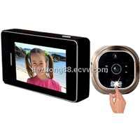 "2.8"" touch screen digital detecting peephole door viewer HZ-3510"
