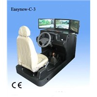 3D car driving simulator