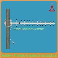 3GHz 16 dBi heavy-duty extruded anodized Aluminum Yagi Antenna-N Female or other connector