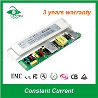 3w 650ma input 100-240Vac CE/RoHS close frame constant current ac/dc led power supply