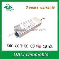 45W LED Driver 1500mA Dali Dimmable High PF 0.95 Close Frame LED Power Supply