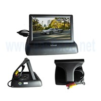 4.3inch HD TFT LCD monitor with Folding type