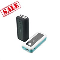 5600mah External Travel Power Banks with Flashlight
