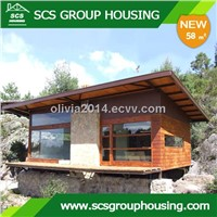 58m2  New Chalet of Steel Structure/Earthquake_SCS GROUPHOUSING