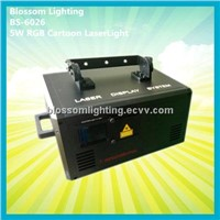 5W RGB Cartoon Laser Light (BS-6026)