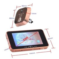 5 inch luxury digital door viewers with mms function PH-50
