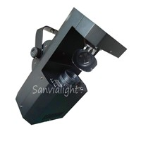 60W LED scanner light with rotating gobo