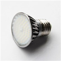 6W E27 LED spot lights with milk white glass dome