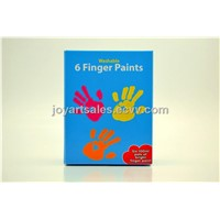 6pcs washable finger paint