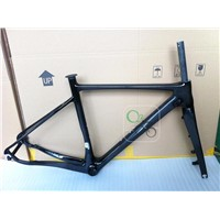 700C Carbon Road Racing Bike Frames, +Fork Frameset With Disc Brake Internal Routing