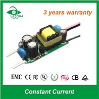 7W 350mA Constant Current LED light Driver with  TUV CE SAA LED driver