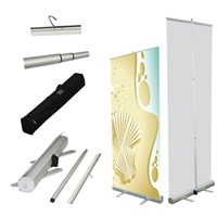 80-200cm Adjustable Roll Up Banner Stand