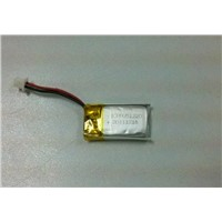 80mAh  3.7v Li-polymey battery for 3D glasses
