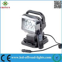 9-30V 7'' 50W  Remote control LED Mining Work Lamp/ Light LED Driving Lights for heavy duty vehicle