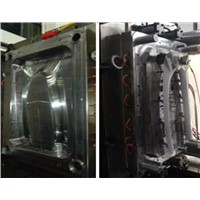auto plastic injection mold of column