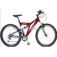 Aluminum Mountain Bicycle/Alloy Mountain Bike With F/R Suspension