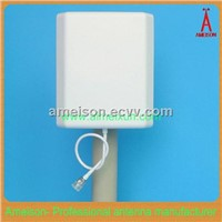 Ameison Outdoor/Indoor 5.8GHz Flat Pactch WiFi Antenna - Integral N-Female Connector