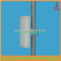Ameison Outdoor/Indoor 5.8 GHz 14 dBi Flat Patch Antenna - Integral N-Female Connector