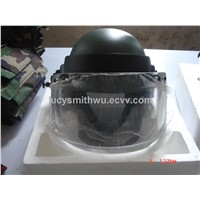Aramid Bullet-proof Helmet with Visor 2cm NIJ IIIA