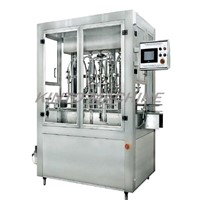 Automatic cylinder bottle filling machine for water,juice,oil,shampoo